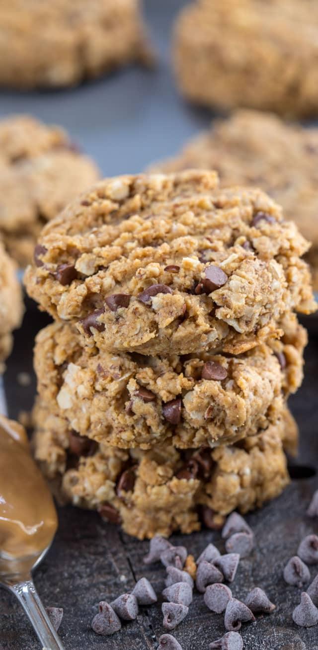 Peanut Butter Breakfast Cookies