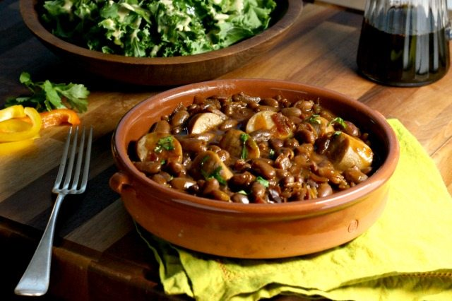 Slow Cooker Baked Beans With Sausage An Easy One-Pot Meal - Crosby's Molasses