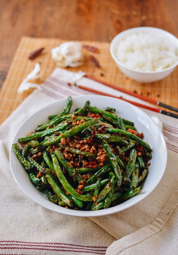 Sichuan Dry Fried String Beans