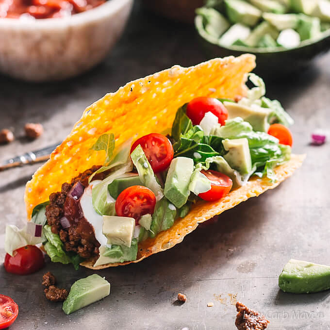 Best Ground Beef Taco Recipe (Low Carb , Keto) Best Ground Beef Taco Recipe (Low Carb, Keto)