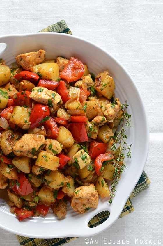 Turkey & Vegetable Hash
