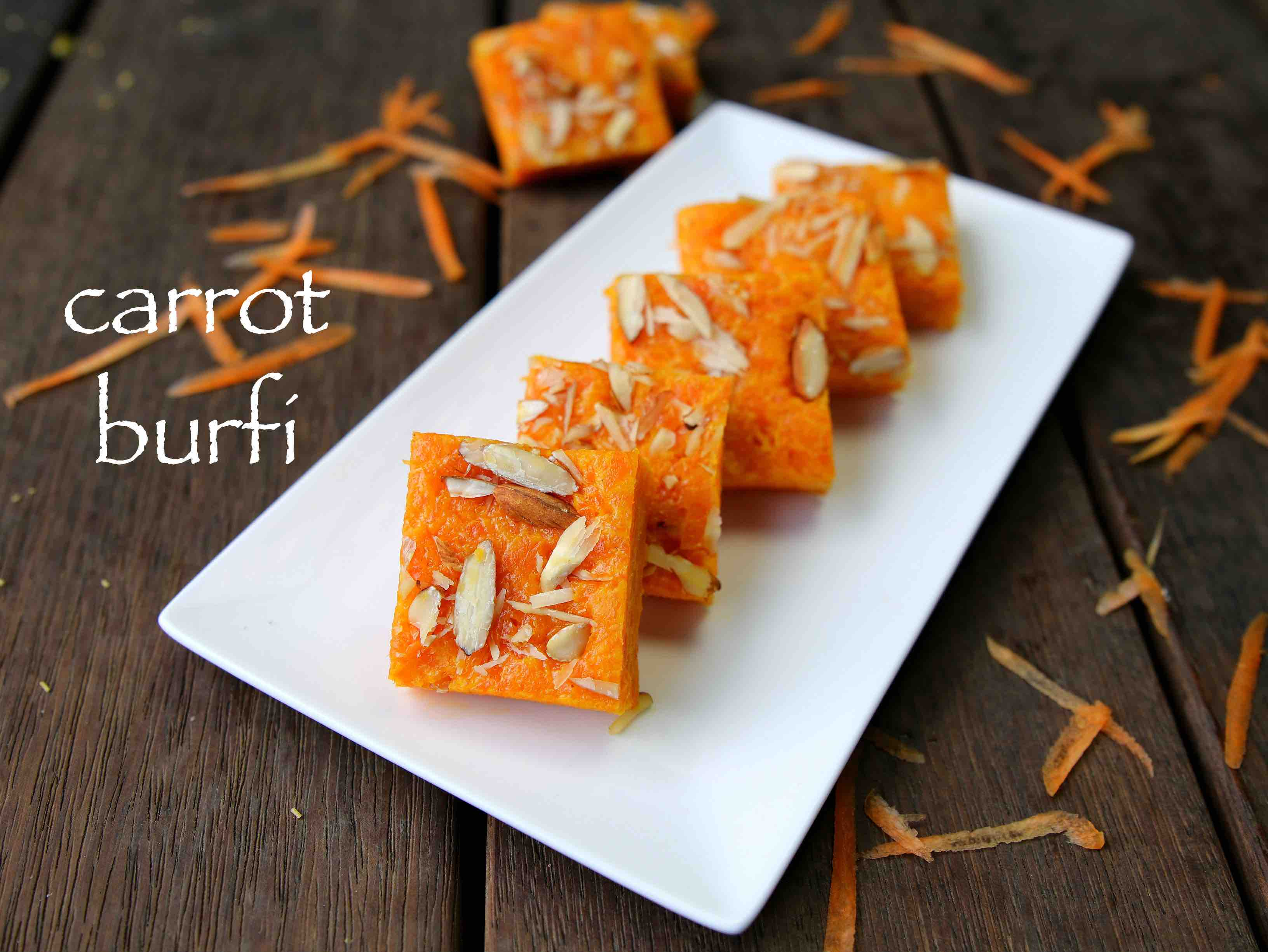 diwali sweets carrot burfi recipe | gajar ki barfi recipe | how to make carrot barfi Hebbars Kitchen Hebbar's Kitchen