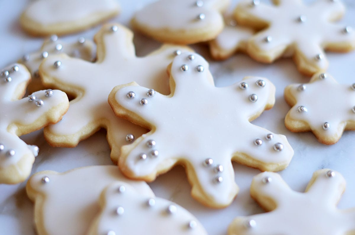 Holiday Cut-Out Butter Cookies - Once Upon A Chef