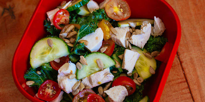 Kale Salad With Chicken Recipe | 21 Day Fix | The Beachbody Blog
