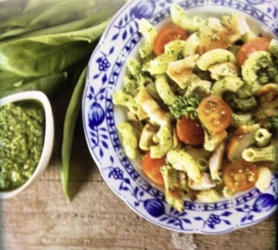 Chicken & Pesto Pasta Salad