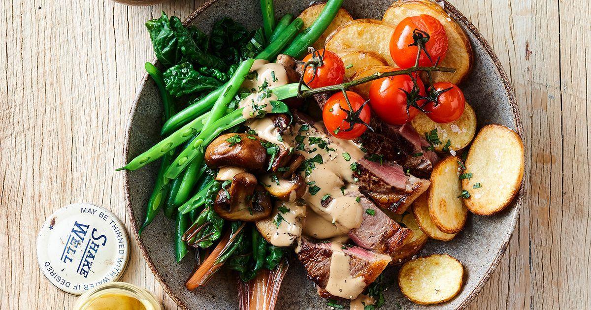 Steak Diane Dinner Bowl