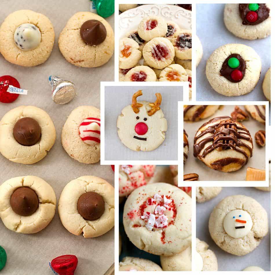 Shortbread Thumbprint Cookies - 7 Ways + Video! - Life Made Sweeter