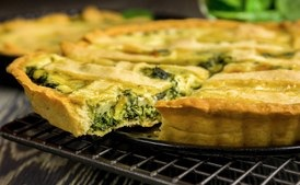 Speedy Spinach Quiche