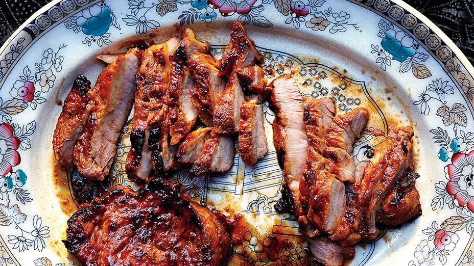 Gochujang Pork Shoulder Steaks