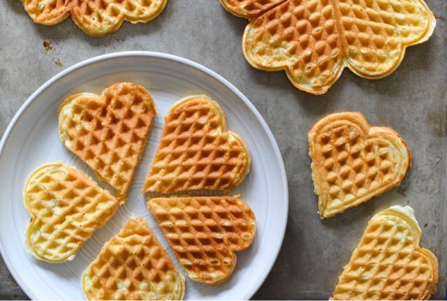 Norwegian Waffles (Vaffler)