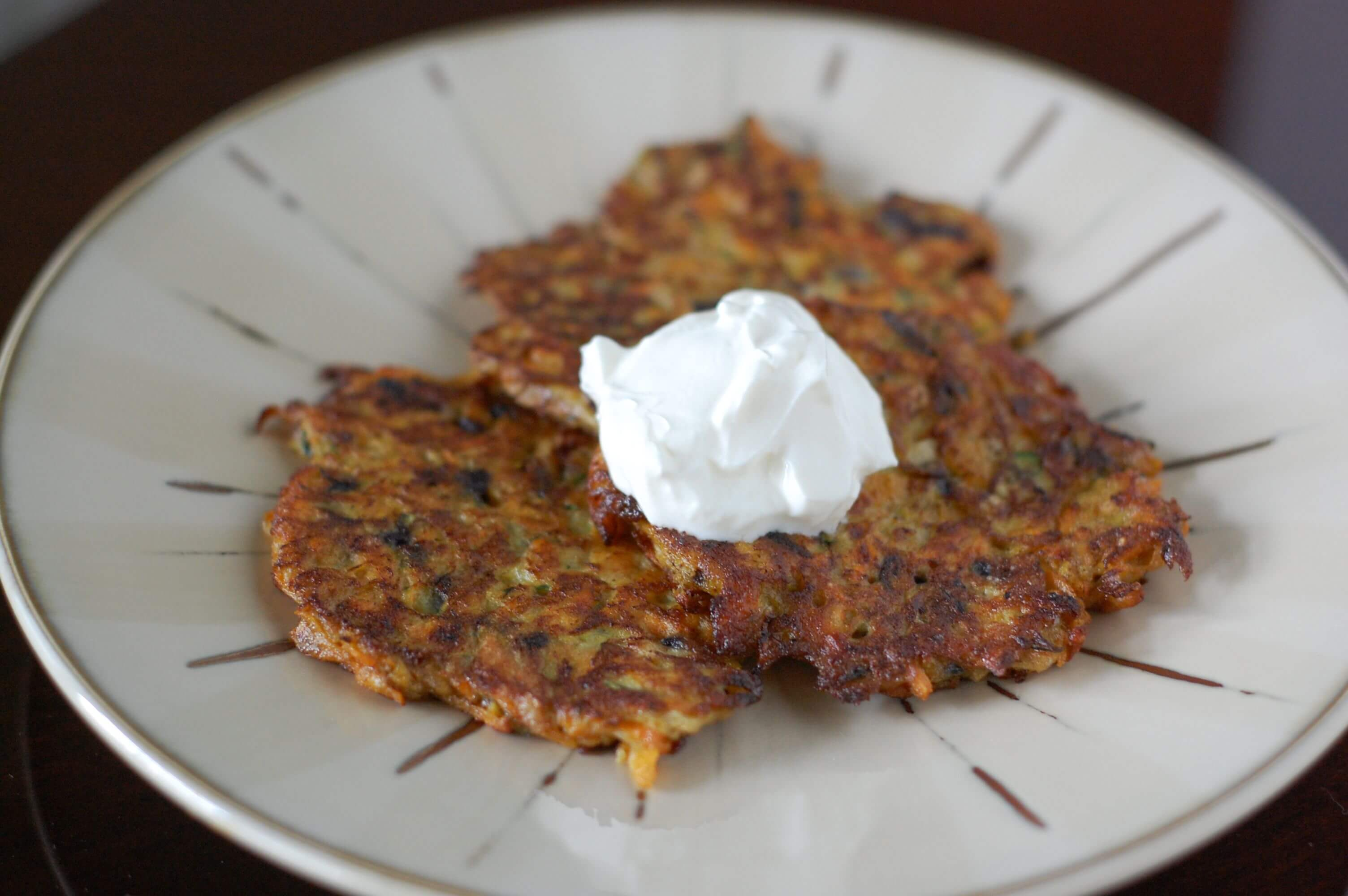 Recipe: Vegetable Pancakes - 100 Days Of Real Food Recipe: Vegetable Pancakes - 100 Days Of Real Food