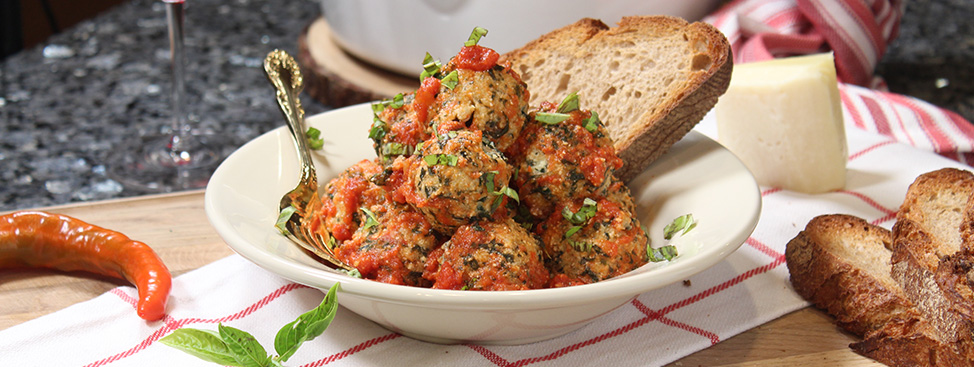 Spinach And Ricotta Meatballs Recipe | Orsara Recipes