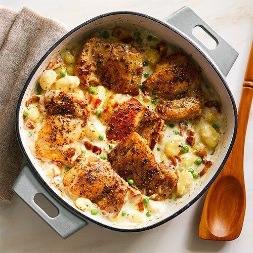 One-Pot Chicken & Gnocchi
