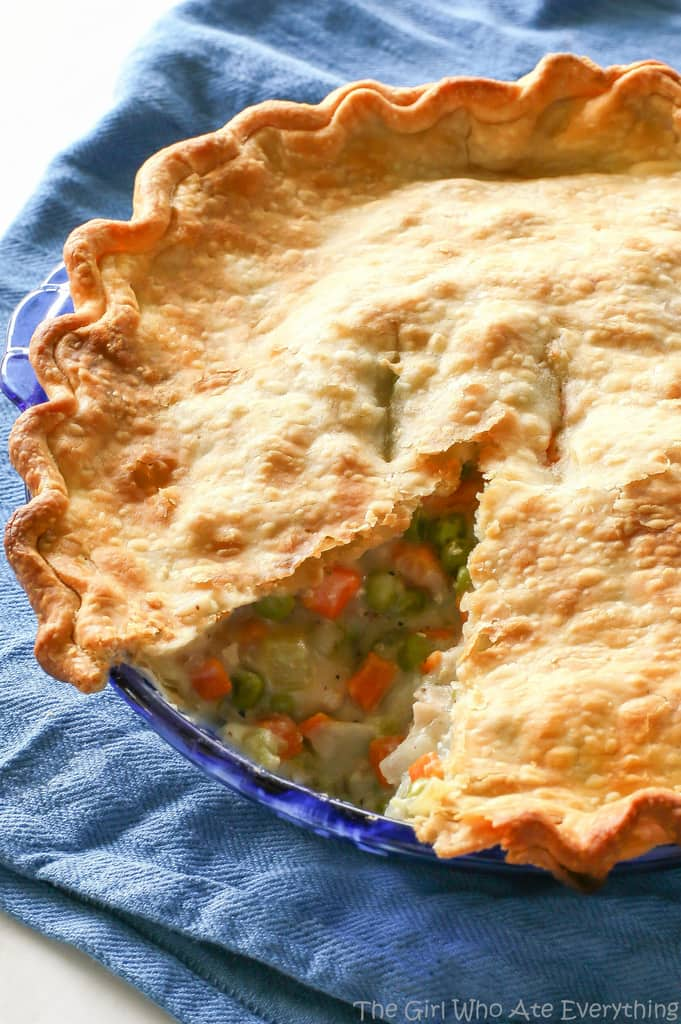 Chicken Pot Pie - The Girl Who Ate Everything