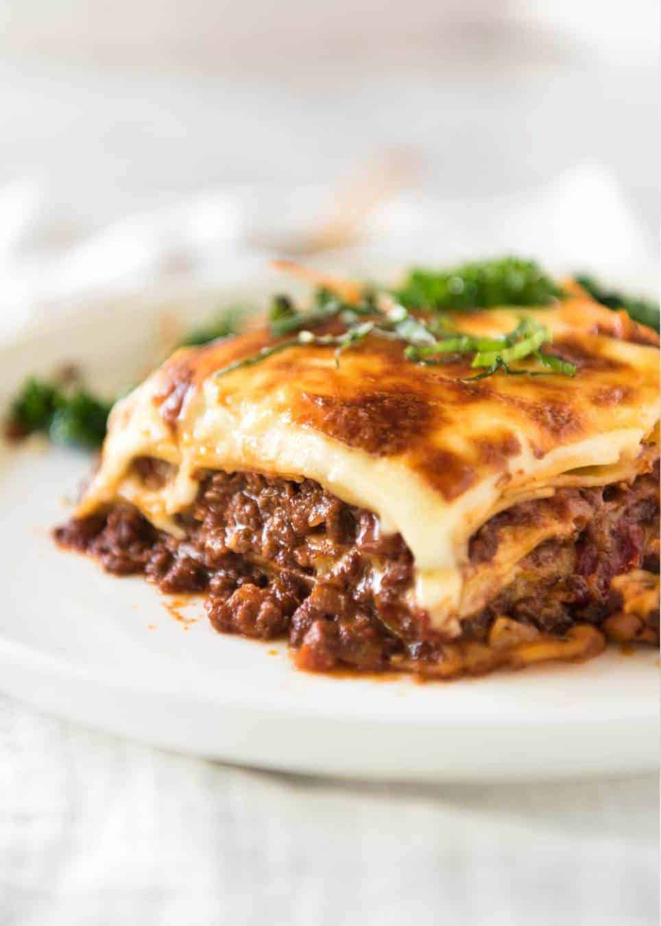 The Yummiest Lasagna