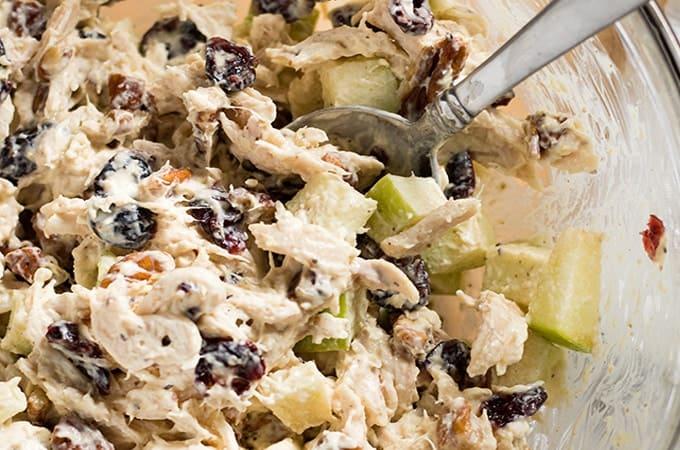 Rotisserie Chicken : Cranberry Chicken Salad