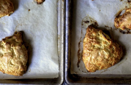Apple And CheddarScones