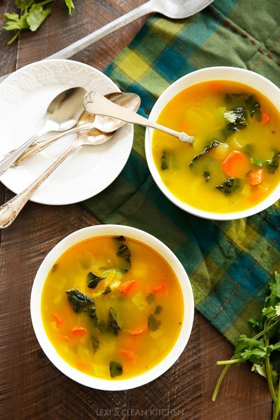 Feel Good Veggie Soup