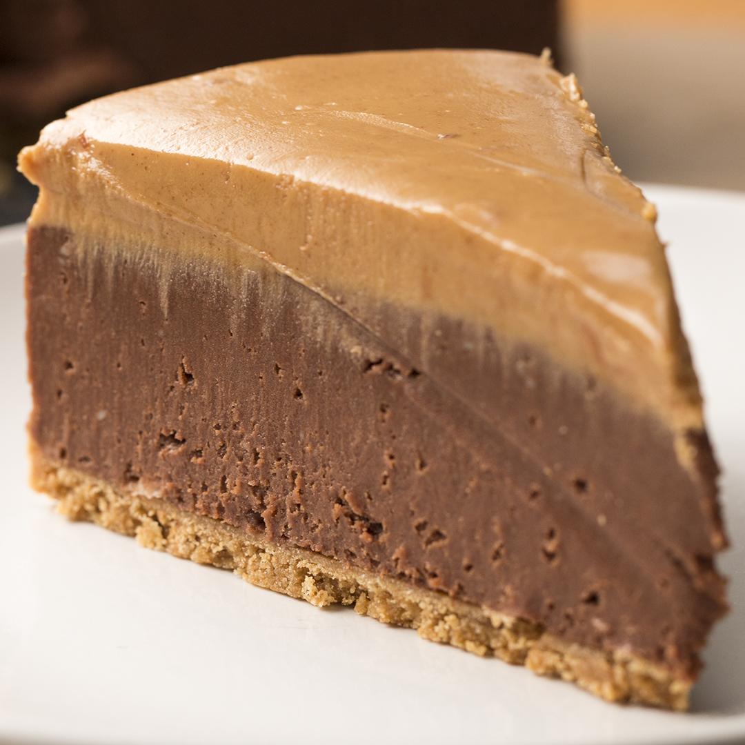 Cheesecake: No-Bake Chocolate Peanut Butter