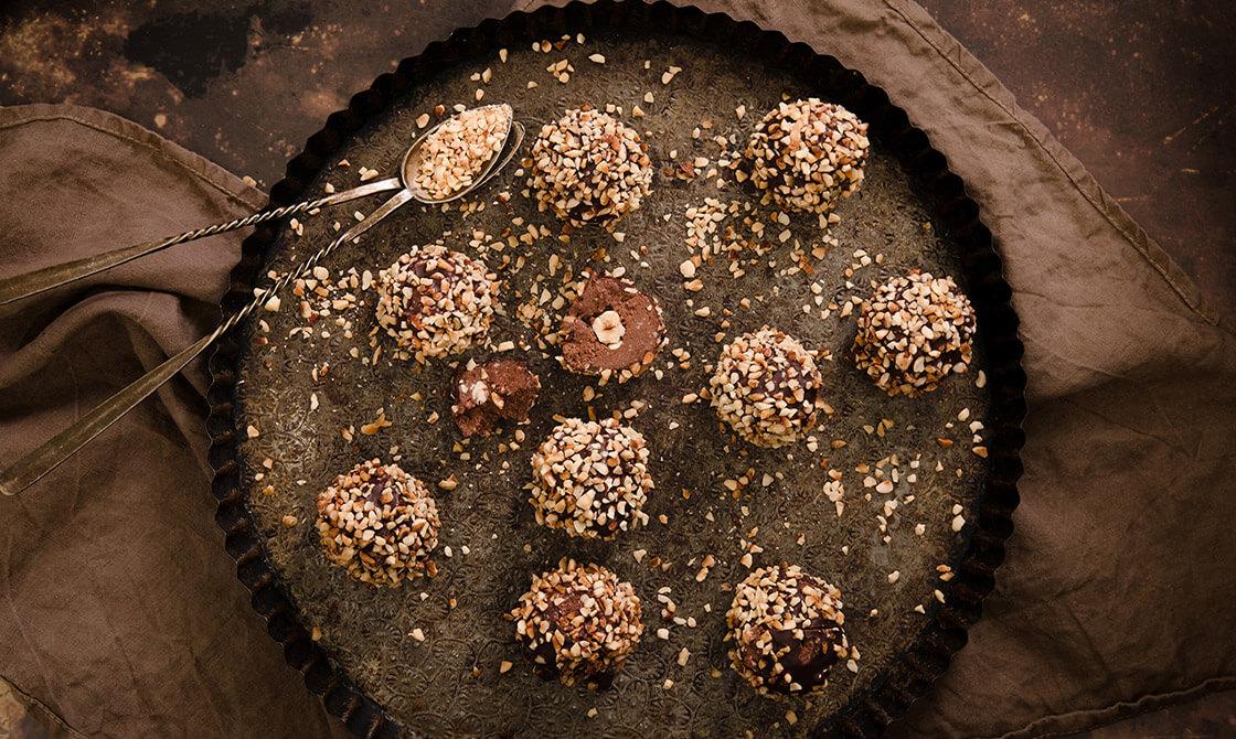 """Chocolate Hazelnut """"Powerhouse"""" Keto Truffles"""