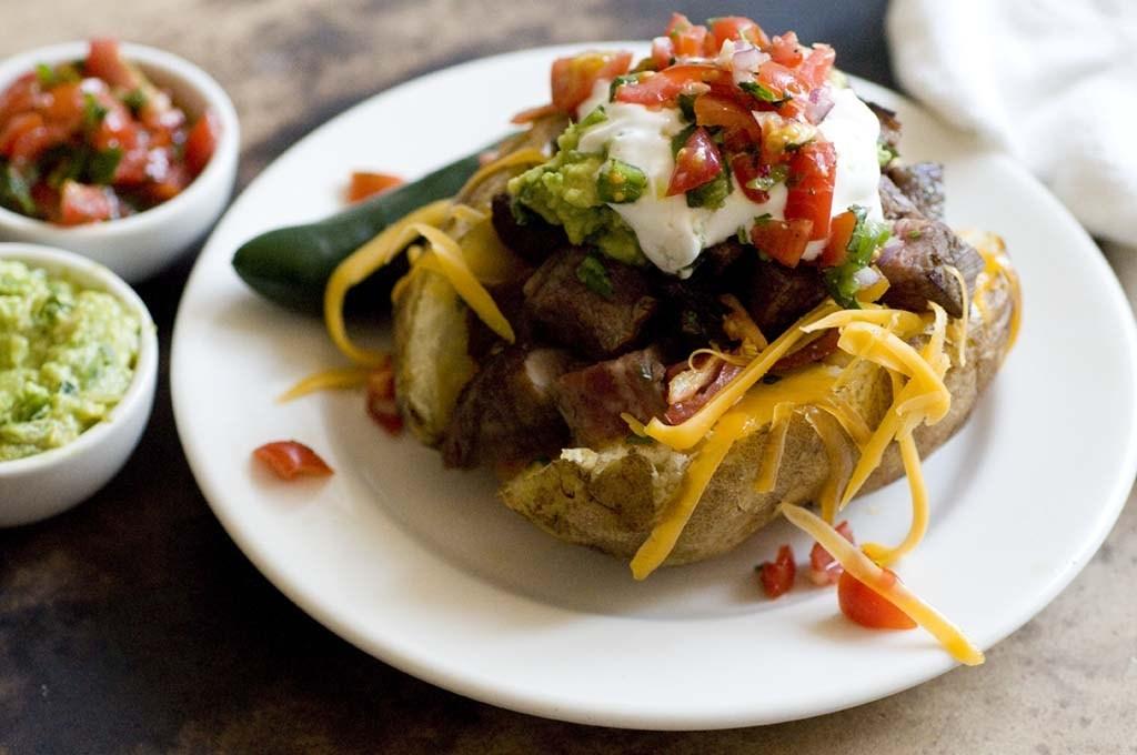 Carne Asada Stuffed Potatoes   Homesick Texan