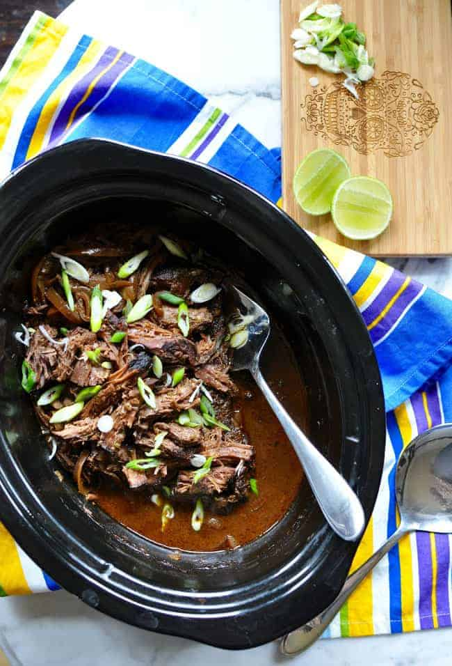 How To Make Mexican Carne Adobada in a Slow Cooker