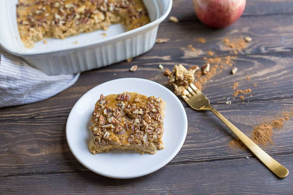 *Pumpkin Apple Breakfast Bake