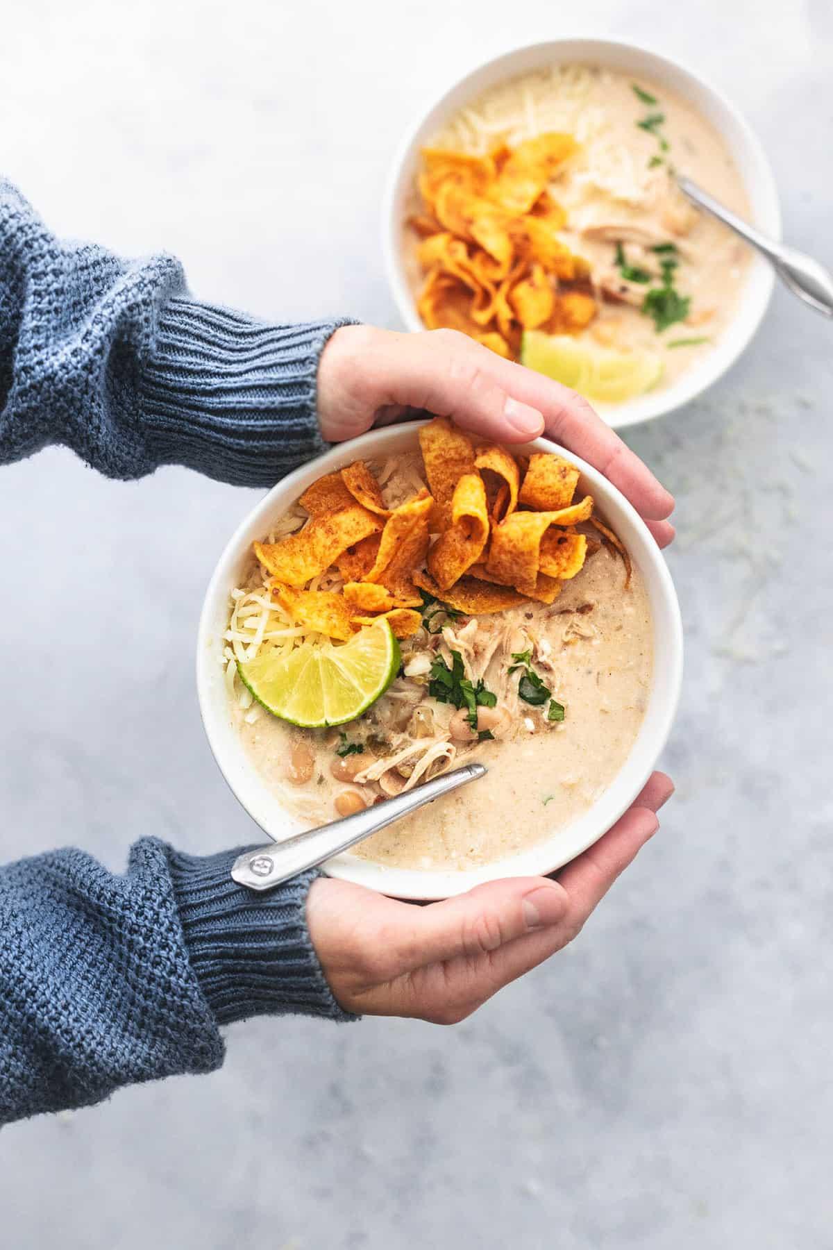 Instant Pot White Chicken Chili Recipe | Creme De La Crumb