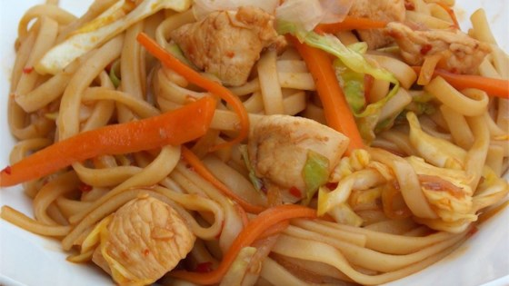 Chicken Yakisoba Recipe