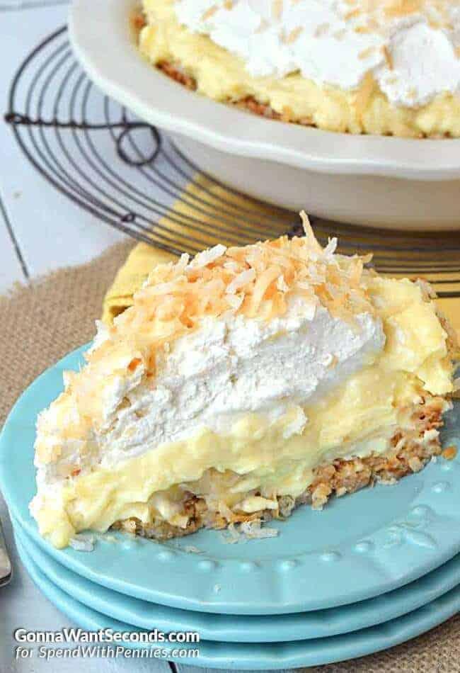 Pie: Coconut Banana Cream