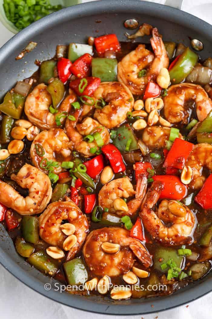 Shrimp: Kung Pao Shrimp
