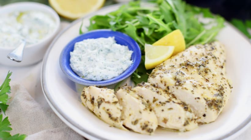 Lemon Garlic Baked Chicken Breast - Clean & Delicious With Dani Spies