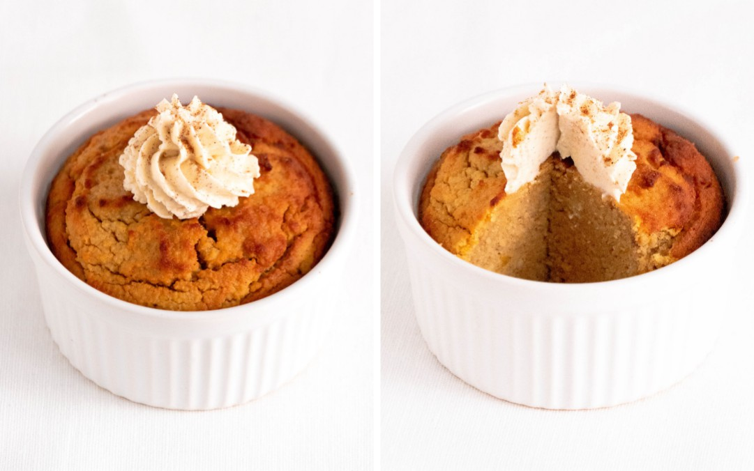 Pumpkin Pie Keto Mug Cake