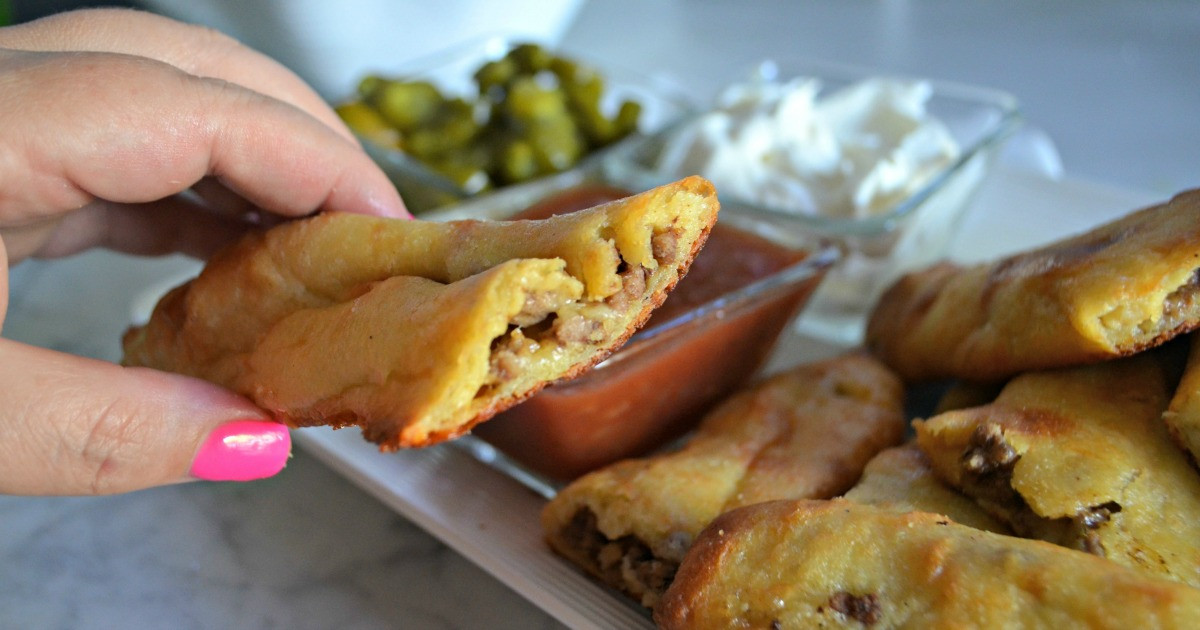 Keto Taco Stuffed Breadsticks