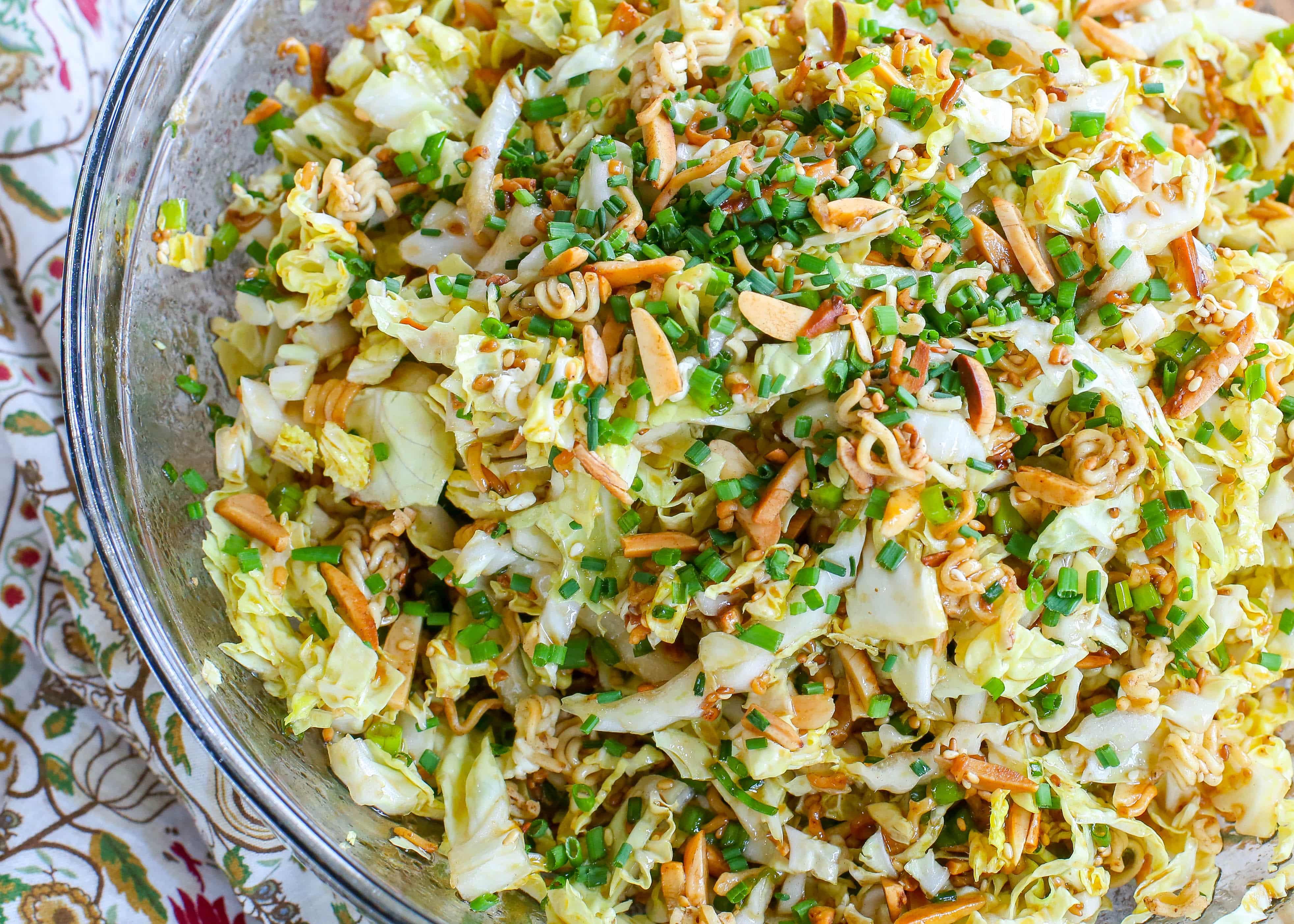 The BEST Ramen Noodle Salad