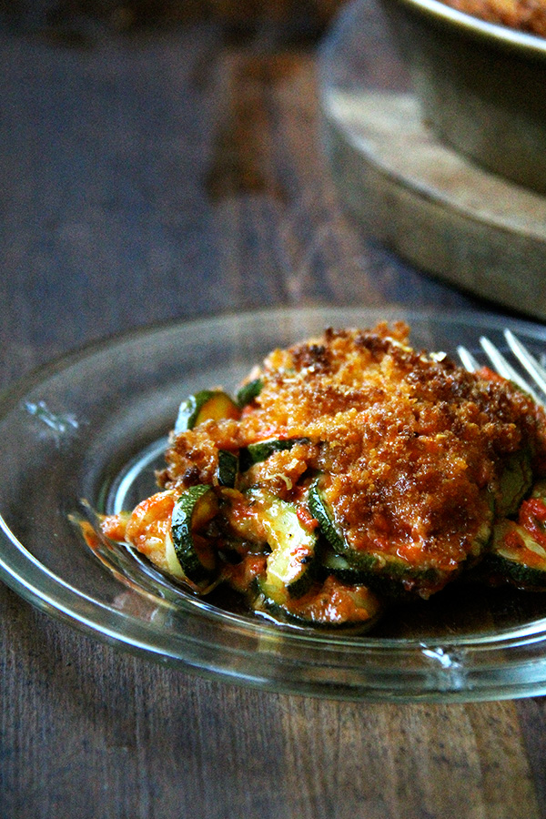 Zucchini Parmesan - Alexandra's Kitchen