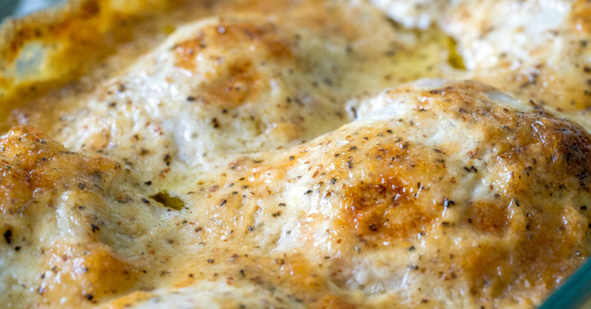 Bbq White Sauce Chicken Bake