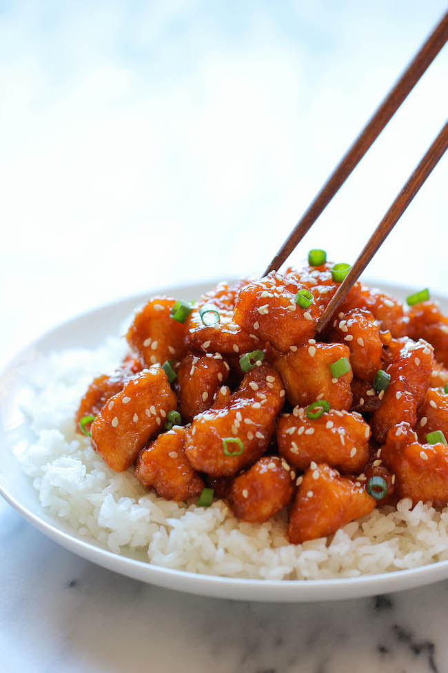 Baked Sweet And Sour Chicken Baked Sweet And Sour Chicken - Damn Delicious
