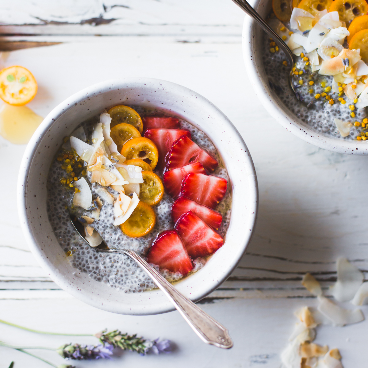Chia Pudding Bowl Breakfast Recipe | Online Food Blogger