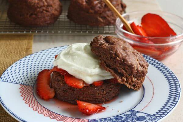 Chocolate Buttermilk Biscuits - A Cozy Kitchen