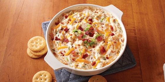 Warm & Chesty Bacon Dip