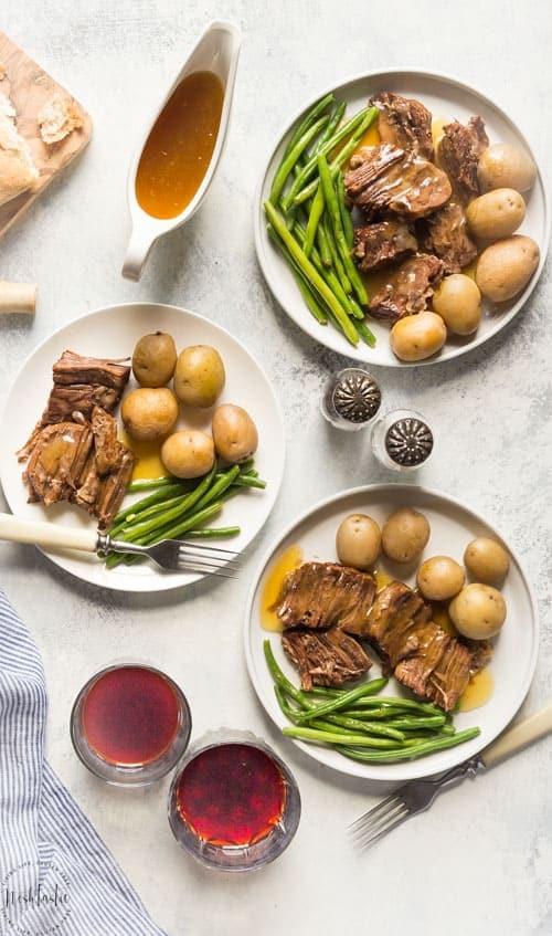 Best Pressure Cooker Pot Roast - In Less Than 1Hr!
