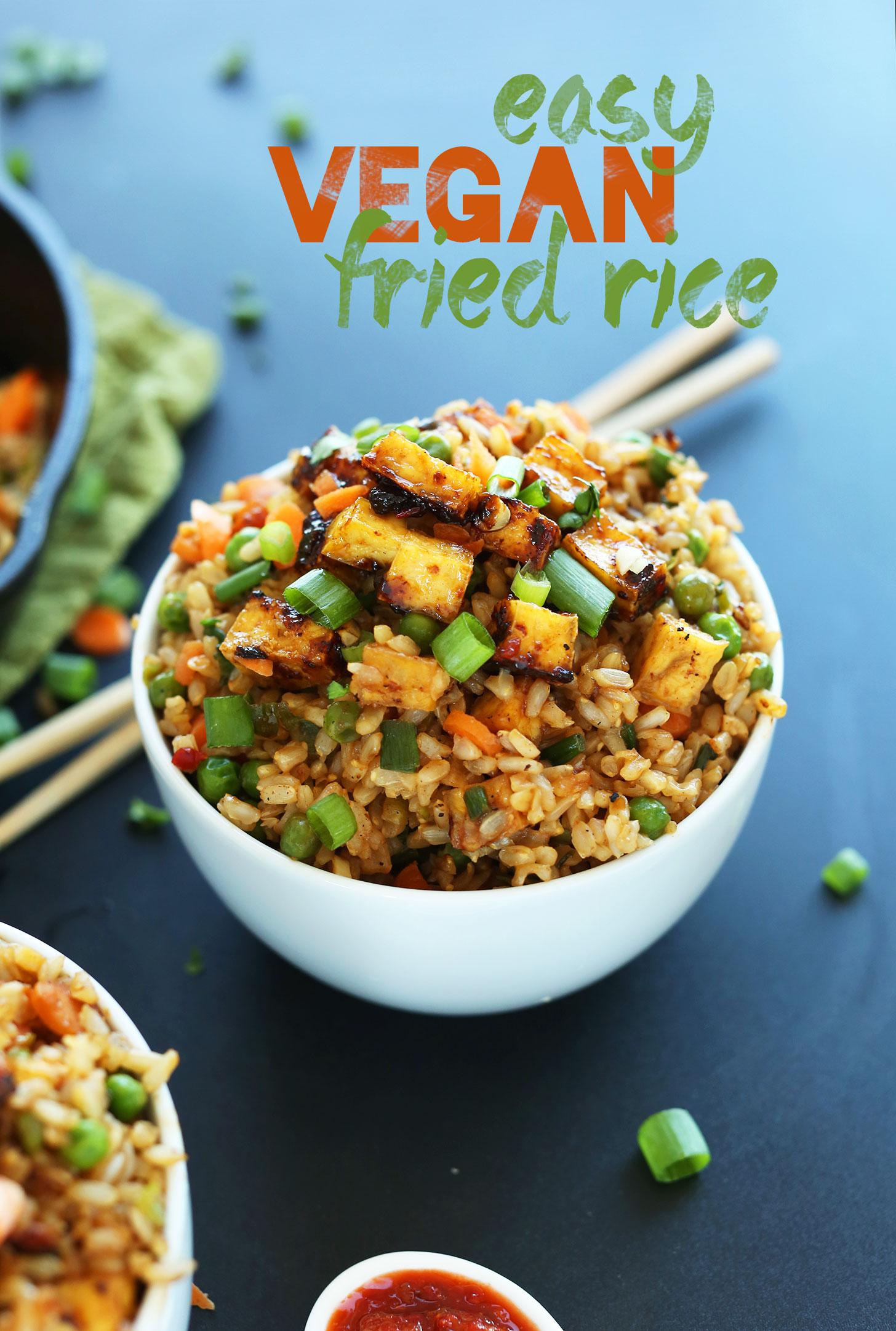 Sauté de légumes et tofu