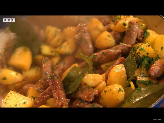 Sausage And  Potatoes(Puglia)