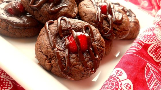 Chocolate Covered Cherry Cookies Ii Recipe