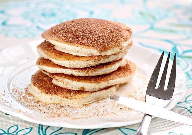 Snickerdoodle Pancakes | The Kitchen Magpie