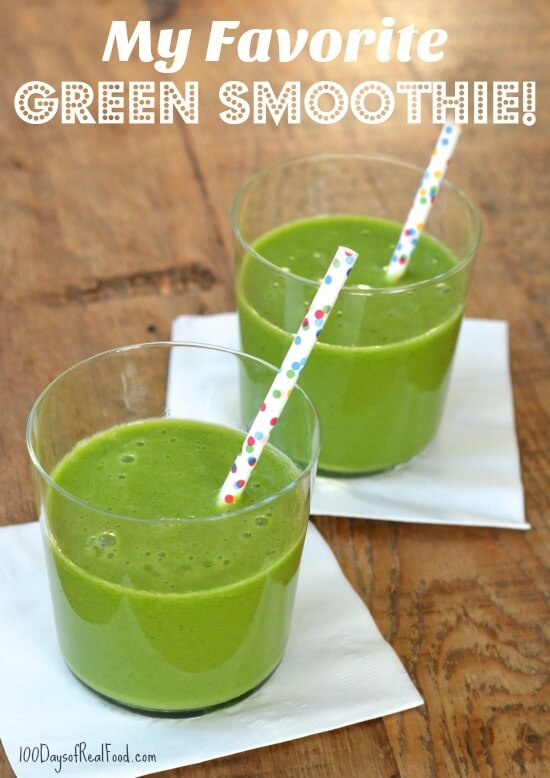 My Favorite Green Smoothie + Other On-The-Go Breakfast Ideas! My Favorite Green Smoothie + Other On-The-Go Breakfast Ideas!