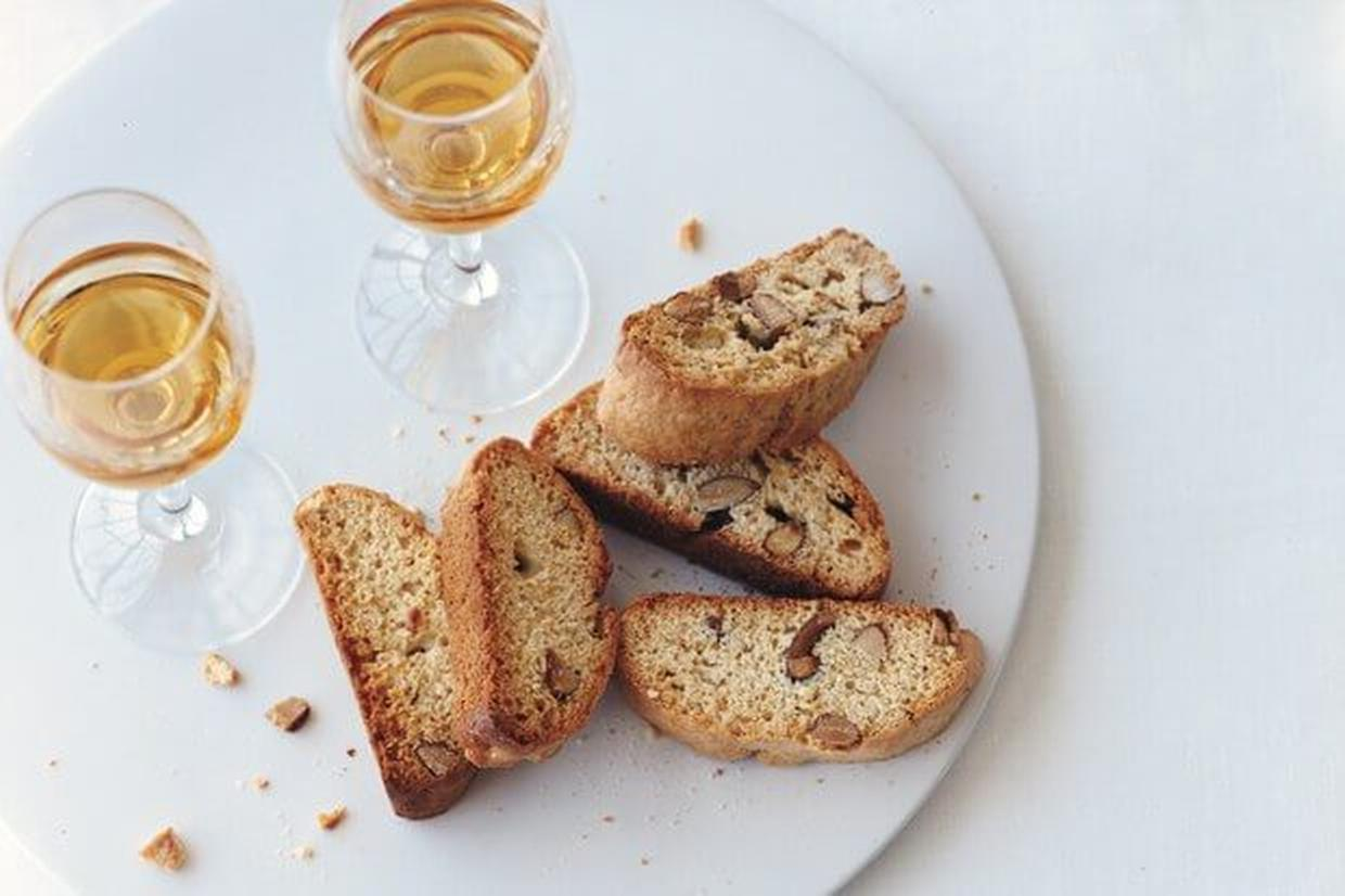 Almond Biscotti Recipe | Online Food Blogger