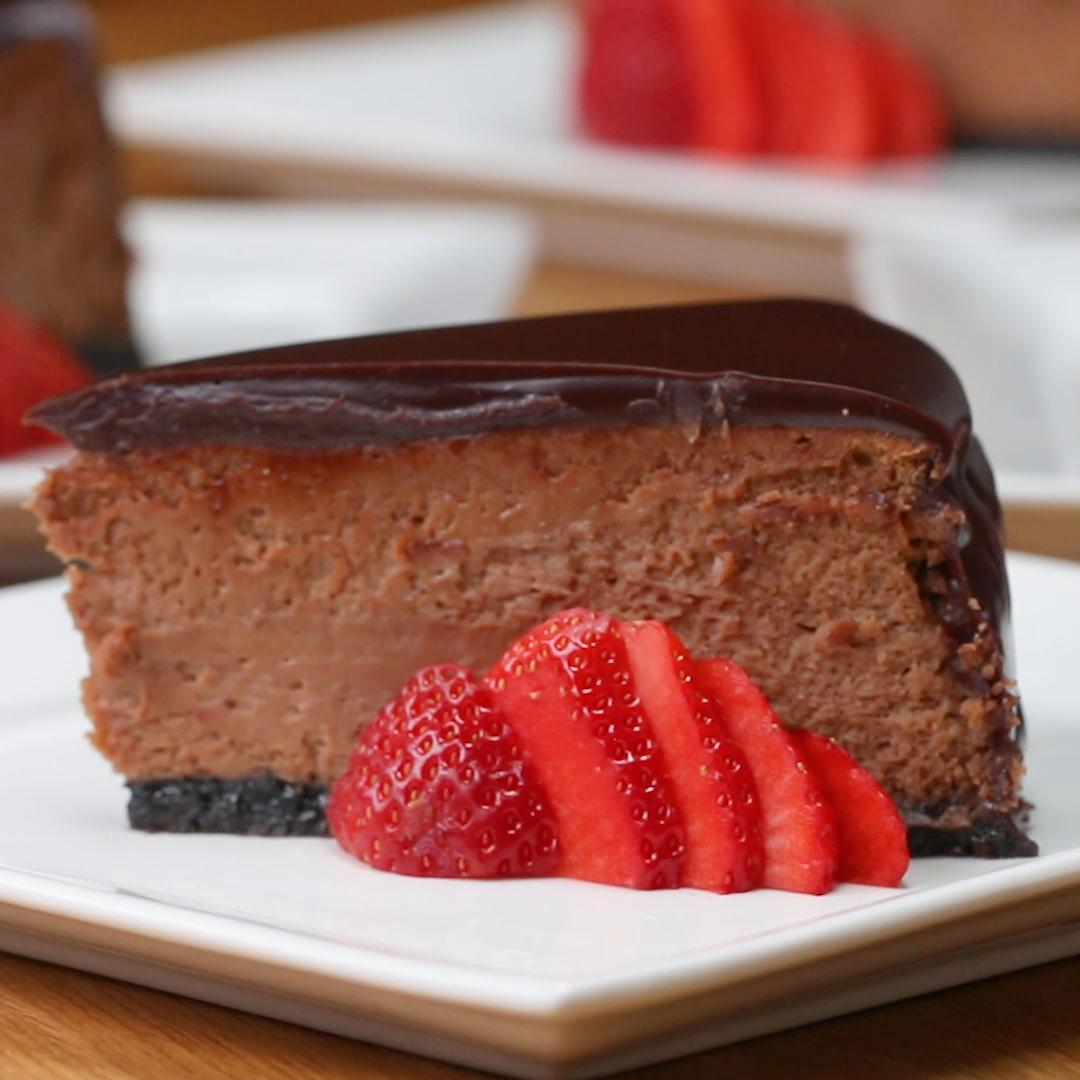 Cheesecake: Chocolate Mousse