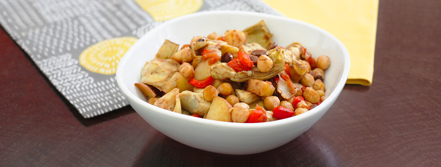 Chickpea And Artichoke One-Pot Wonder